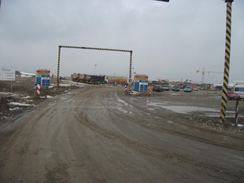 Autostrada Transilvania.Punct de lucru