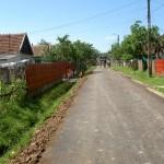Drumul asfaltat